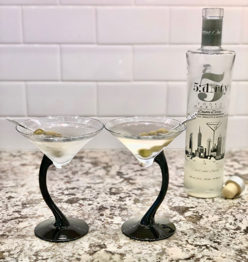 Enjoy 5:Dirty Martinis
