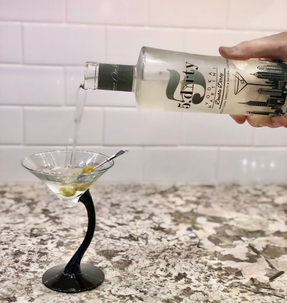 Pour 5:Dirty Martinis